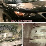 Xe ô tô KIA SORENTO 2012 lắp đệm giảm xóc TTC Urethane
