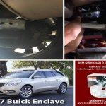 Xe ô tô BUICK ENCLAVE 2017 lắp đặt đệm giảm xóc TTC Urethane