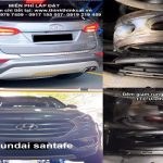 Ô tô Huyndai Satafe lắp đặt đệm giảm xóc TTC Urethane