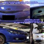 Xe ô tô TOYOTA SPORTY lắp bộ đệm giảm chấn TTC Urethane