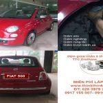 Ô tô FIAT 500AT 2009 lắp đệm giảm chấn TTC Urethane Buffer