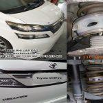 Ô tô TOYOTA VELLFIRE lắp đặt đệm giảm xóc TTC Urethane