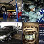 Ô tô CHEVROLET LHS lắp đặt đệm giảm xóc TTC tại Garage