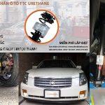 Ô tô CADILLAC CTS lắp đặt đệm giảm chấn TTC Urethane