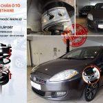 Ô tô FIAT BRAVO lắp đặt đệm giảm xóc TTC Urethane tại Garage