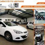 Xe ô tô PEL ASTRA lắp đệm giảm xóc TTC Urethane tại Garage