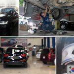 Xế cưng sang chảnh AUDI Q7 được đưa đến garage lắp đệm giảm xóc TTC