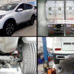 Ô tô HONDA CRV sang chảnh lắp đặt đệm giảm chấn TTC