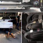 Ô tô KIA K3 lắp đệm giảm chấn TTC tại Garage