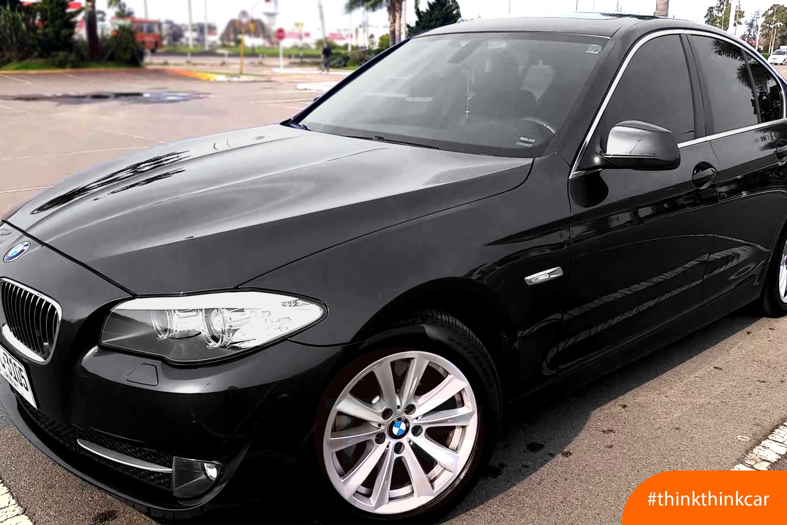 BMW 523i lắp đệm giảm chấn TTC Urethane