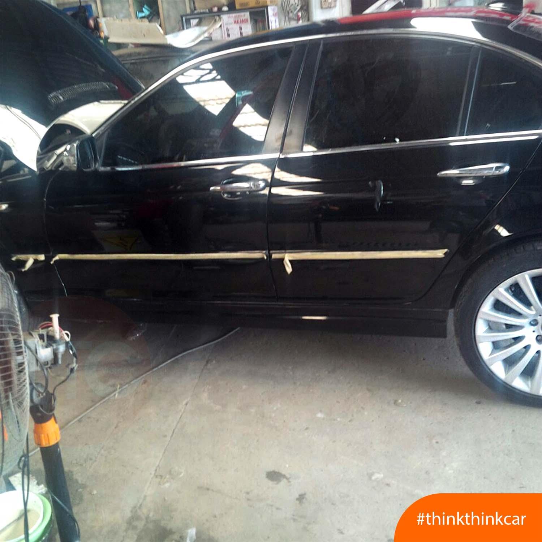 BMW 523i lắp đệm giảm chấn TTC Urethane Hình 2