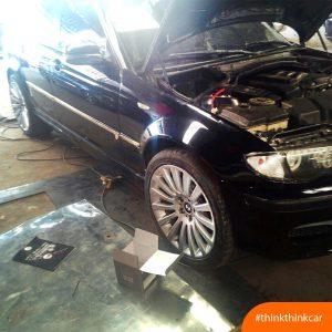 BMW 523i lắp đệm giảm chấn TTC Urethane Hình 1