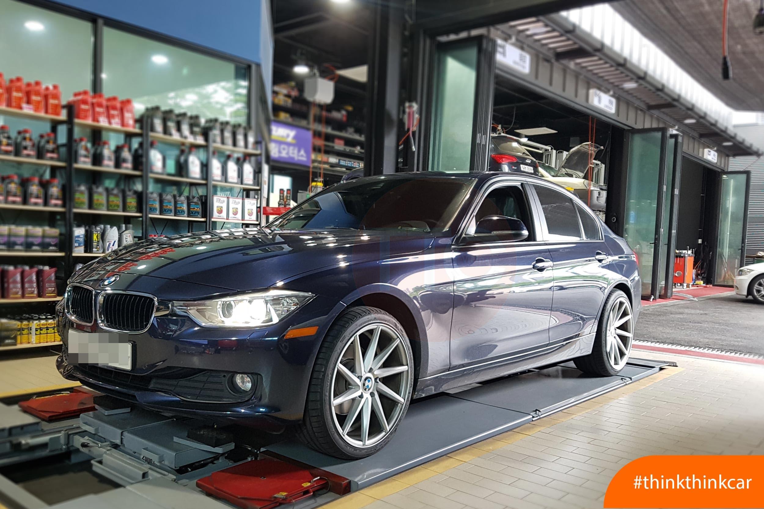 Lắp đệm giảm sóc TTC cho BMW 320i F30 Hình 3