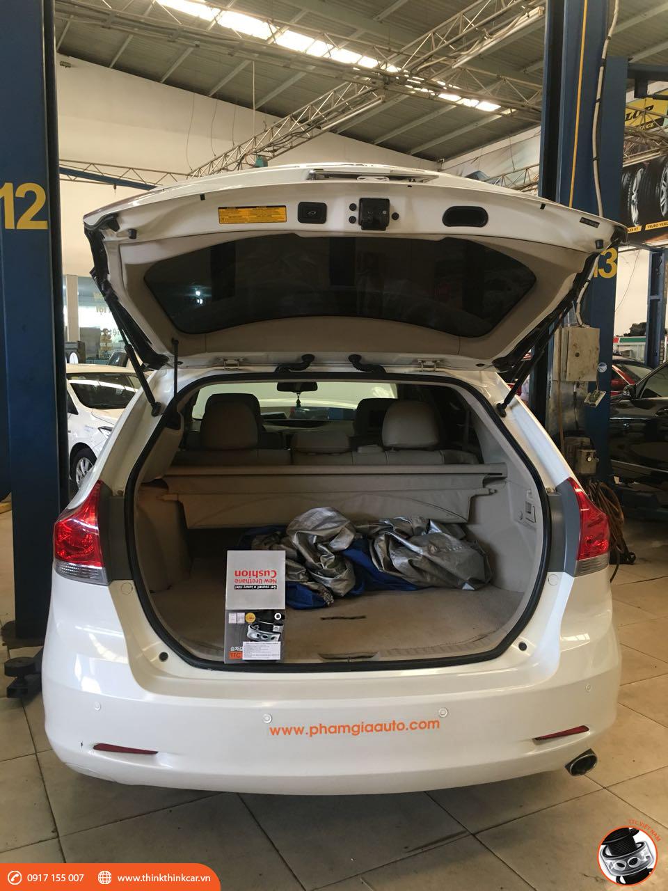 Toyota Venza lắp đệm giảm chấn TTC hình 1