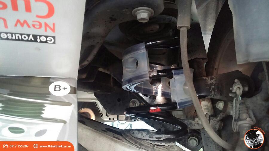 Chevrolet Malibu LS trang bị đệm giảm chấn TTC Hình 6