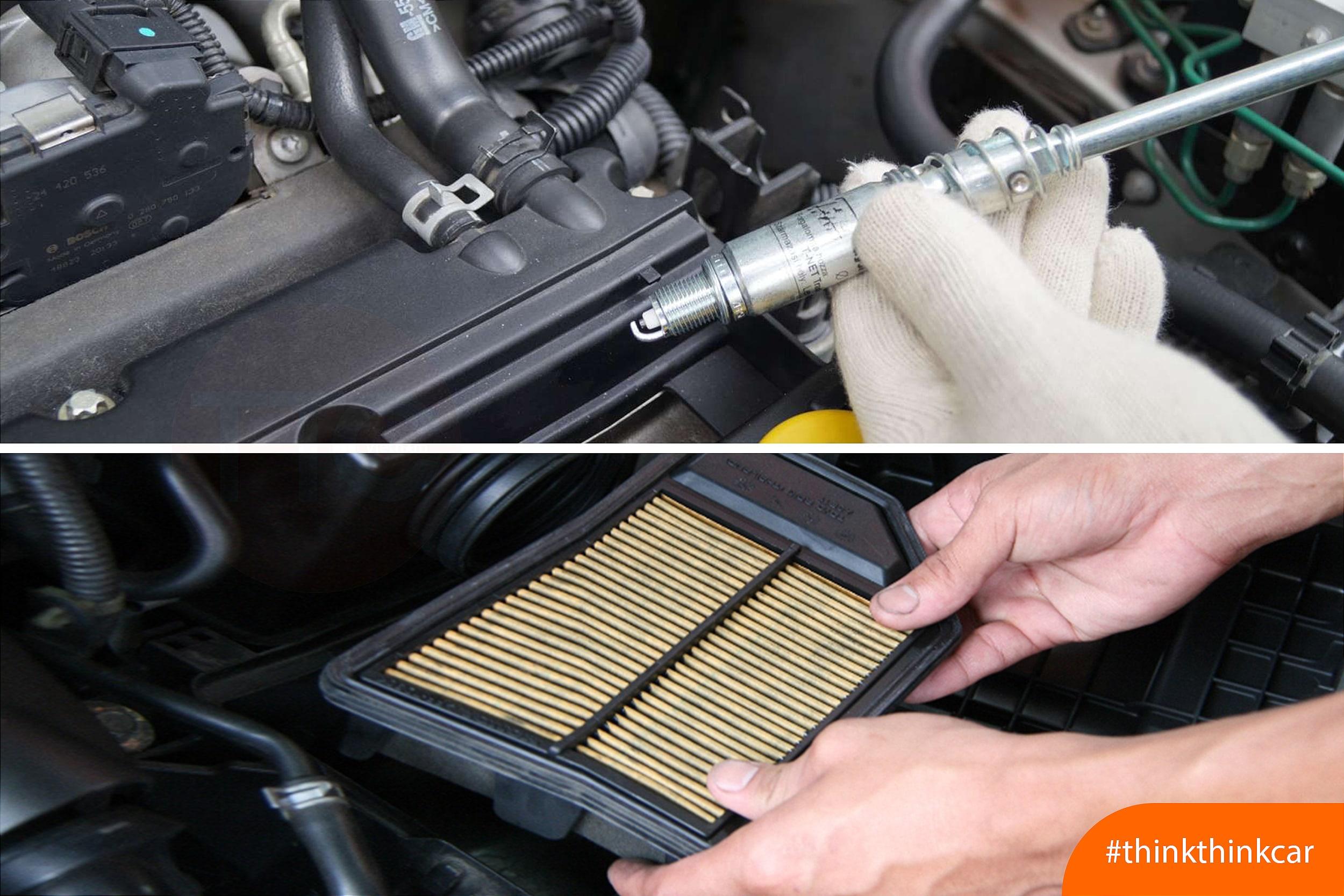 Các hạng mục cần bảo dưỡng và thay thế phụ tùng cho ô tô hình 1