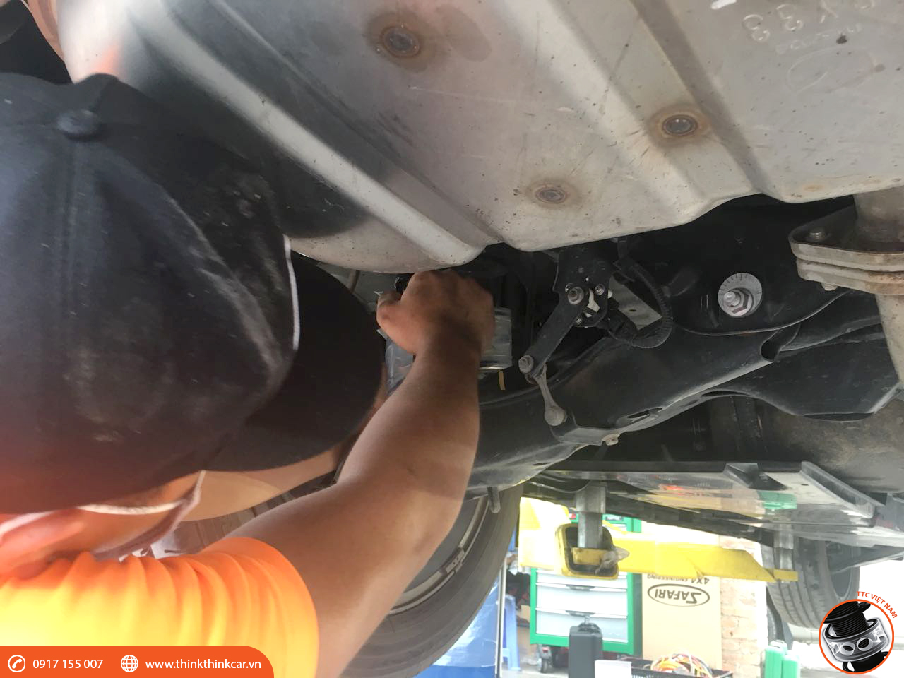 Mazda CX5lắp đặt đệm giảm chấn TTC Hình 2