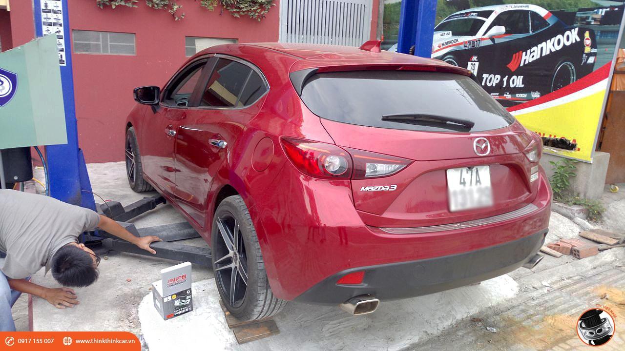 Trải nghiệm Mazda3 Hatchback sau khi lắp đặt đệm giảm chấn TTC 2