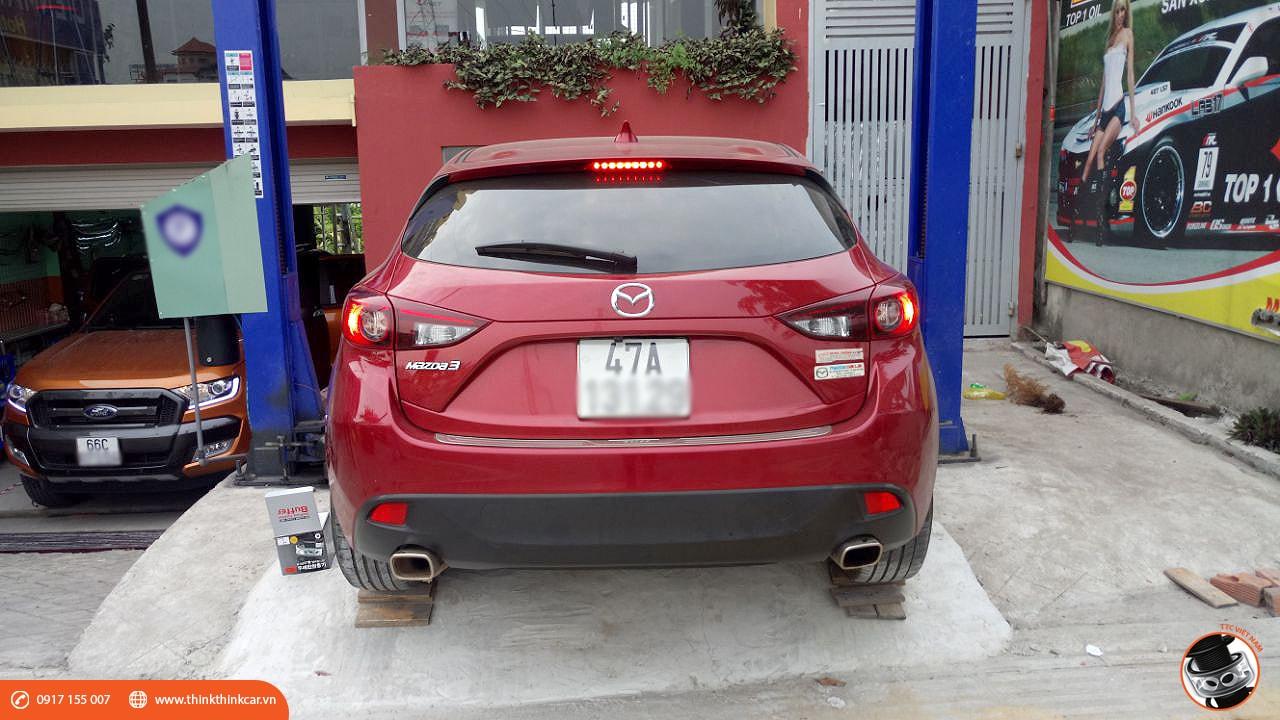 Trải nghiệm Mazda3 Hatchback sau khi lắp đặt đệm giảm chấn TTC 1