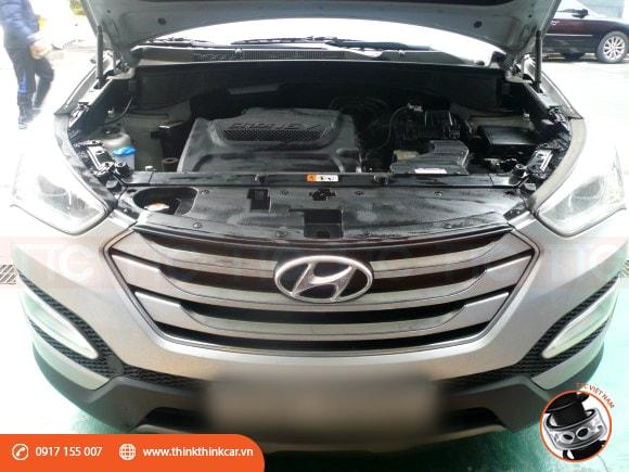 Sợ bộ về Hyundai Santafe