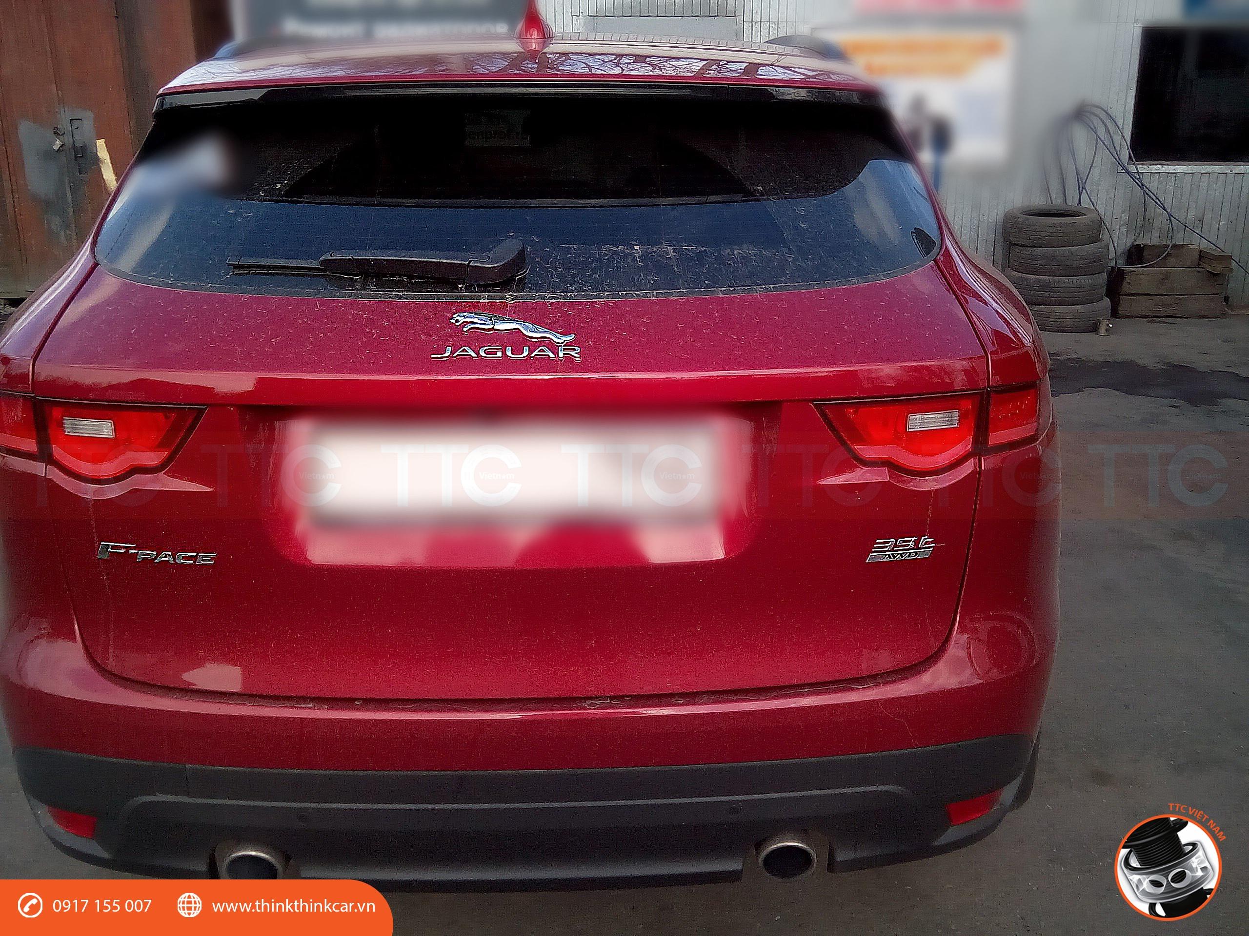 Jaguar F-Pace 2017 và đệm giảm chấn TTC Urethane