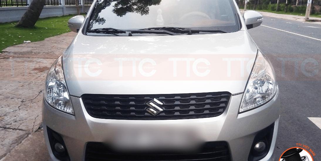 Suzuki Ertiga lắp đệm giảm chấn Urethane TTC